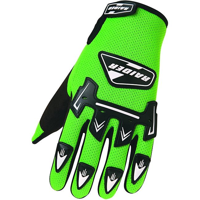 Adult Raider MX Green Glove