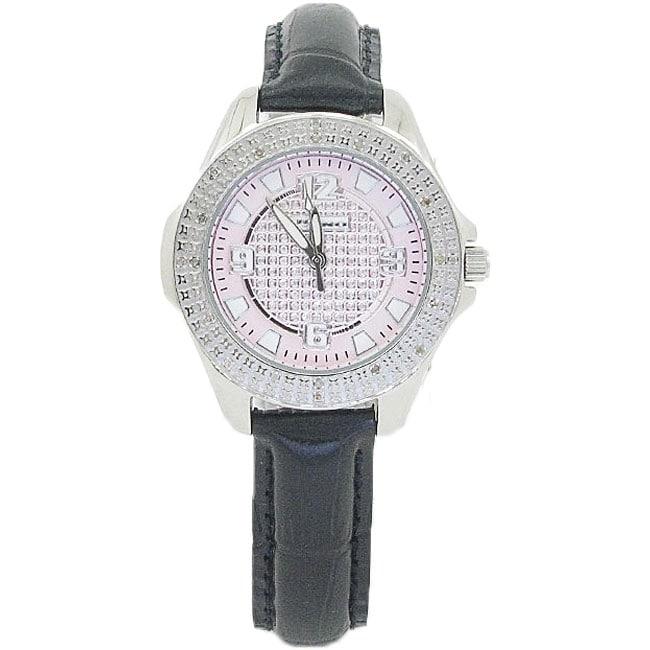 Joe Rodeo Women's Super Techno Diamond Watch