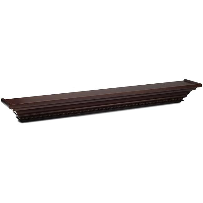 Mellanco 36-inch Dark Mahogany Ledge