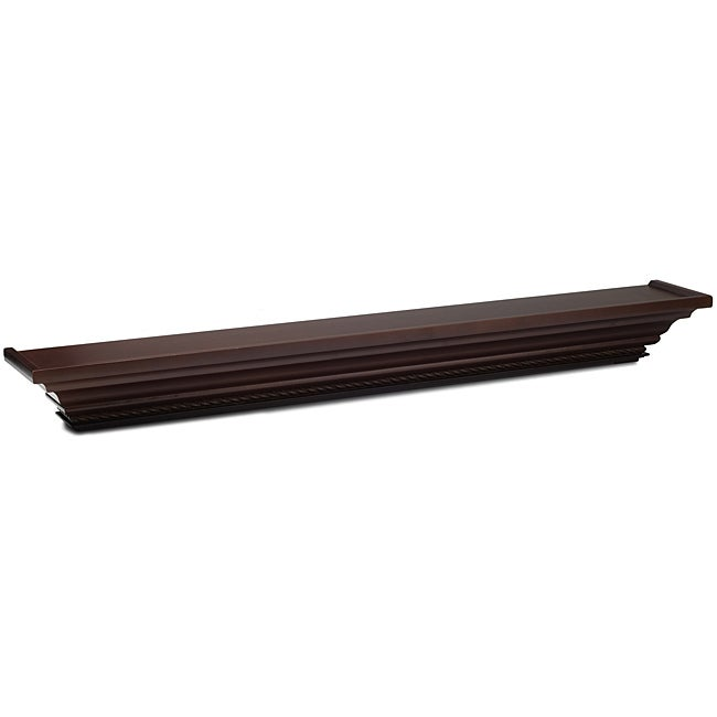 Mellanco 48-inch Dark Mahogany Finish Ledge