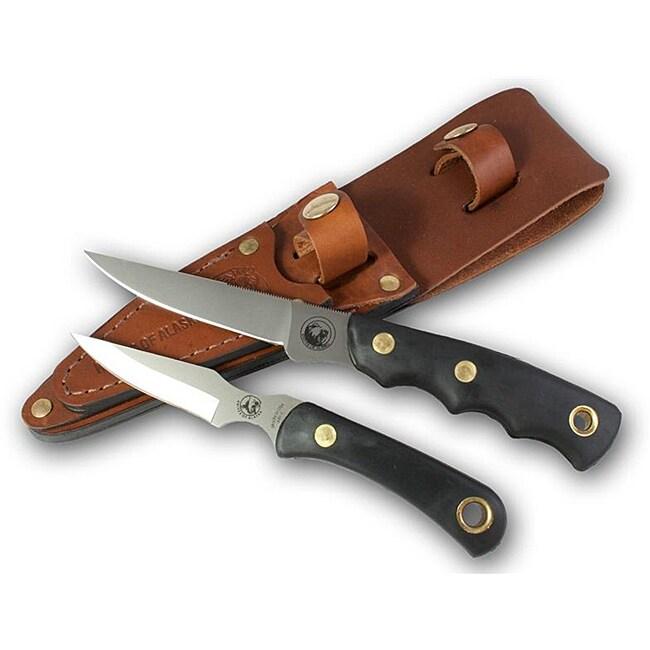 Knives of Alaska Jaeger/Cub Suregrip Combo Knife Set