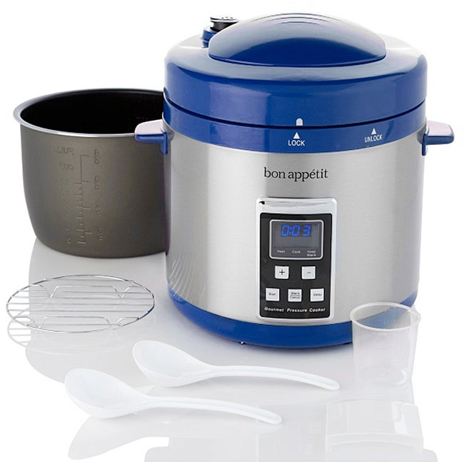 Bon Appetit Programmable Heavy Duty 7-quart Pressure Cooker