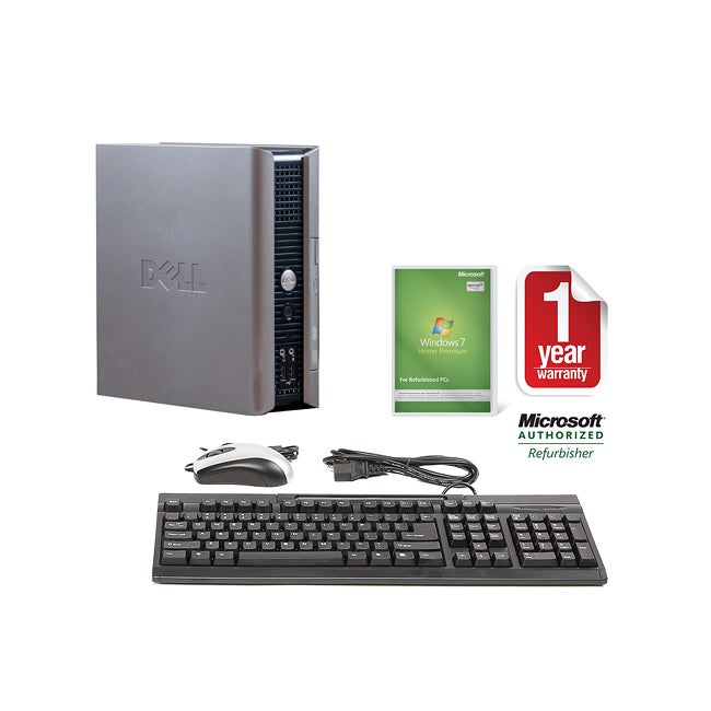 Dell OptiPlex GX620 2.8GHz 160GB USFF Computer (Refurbished)
