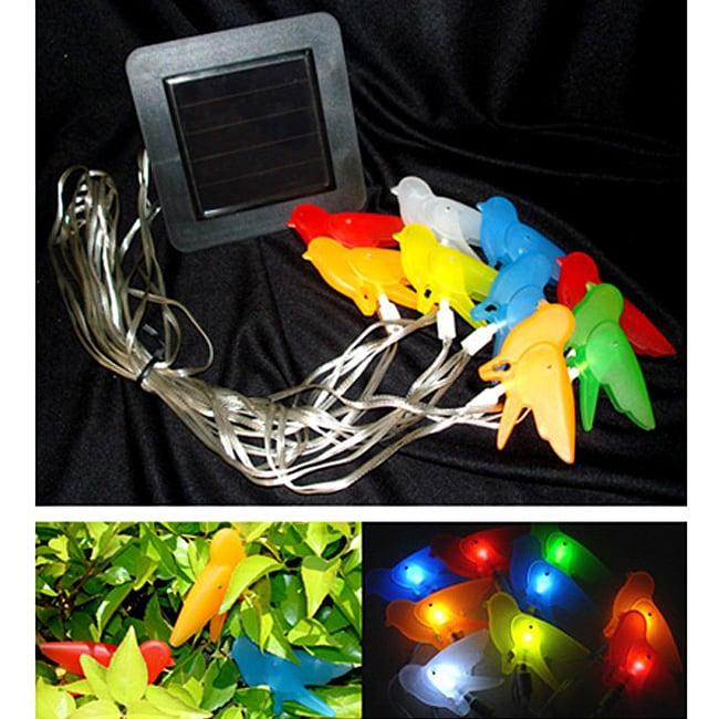 Color Birds Solar String Lights (Set of 2)