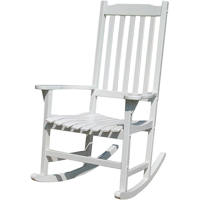 Painted Traditional Rocking Chair