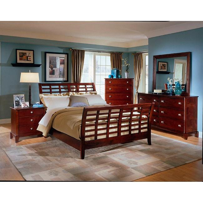 Barton Brown King Size Modern Bedroom Set