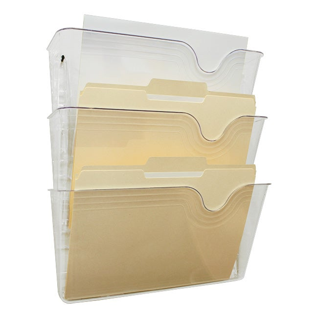 Shop Eldon Sensations 3 Pocket Hot File Letter Size Wall