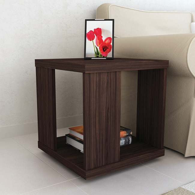 Sonax Ebony Pecan End Table