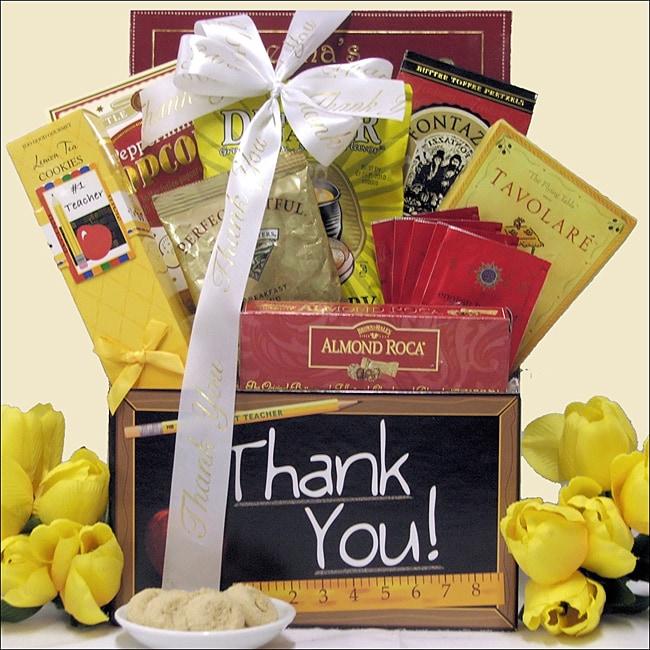 'Teachers Change The World': Teacher Appreciation Gift Box