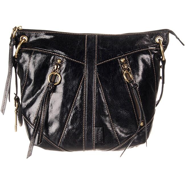 Fossil Black Monika Crossbody Leather Bag