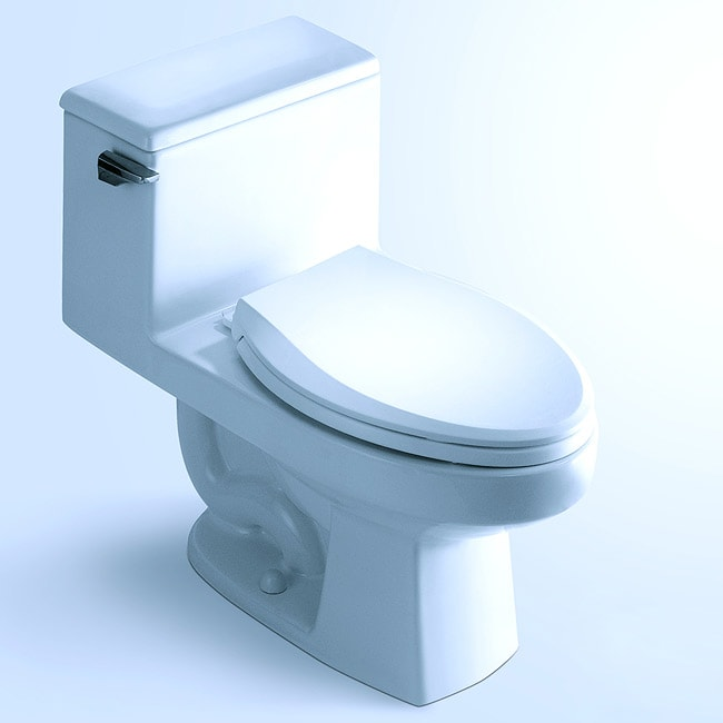 'ROCHESTER' Contemporary European Toilet with Single Flush and Soft Closing Seat