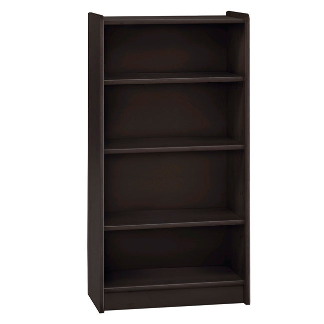 Popsicle Espresso Tall Bookcase