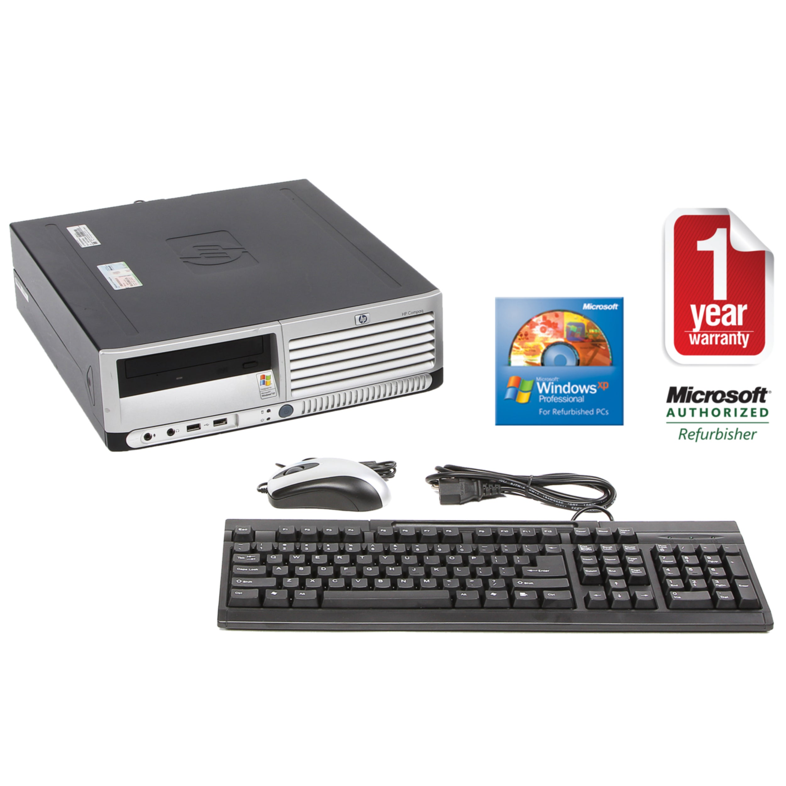 HP Compaq DC5100 3.06GHz 80GB SFF Computer (Refurbished)