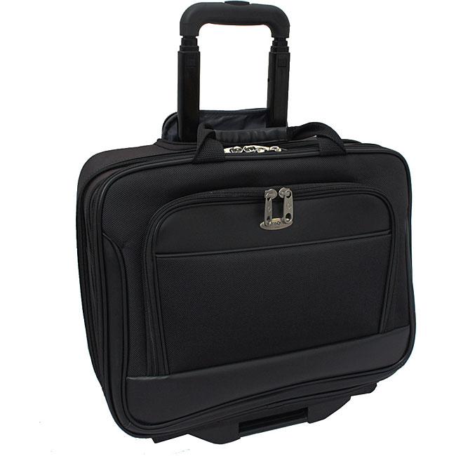 Samsonite Triple Gusset Wheeled 15.4-inch Computer Laptop Business Case Overnighter