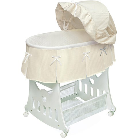 Badger Basket 2-in-1 Bassinet and Toy Box