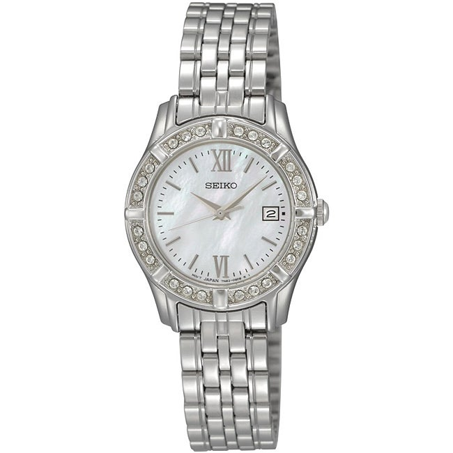 Seiko Women's Stainless Steel Watch - Thumbnail 0