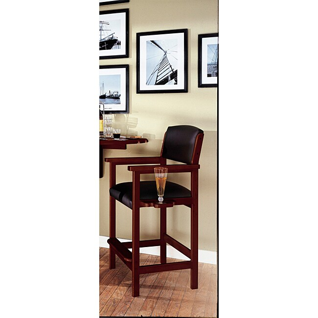 Billiards Cabernet Finish Viewing Chair