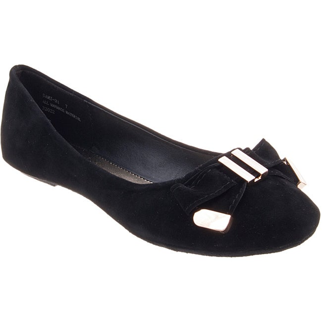 Riverberry Women's 'Sami' Black Flats