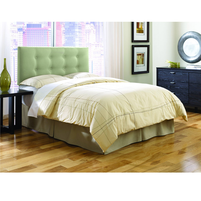 Chambery Sage Upholstered Twin-size Headboard