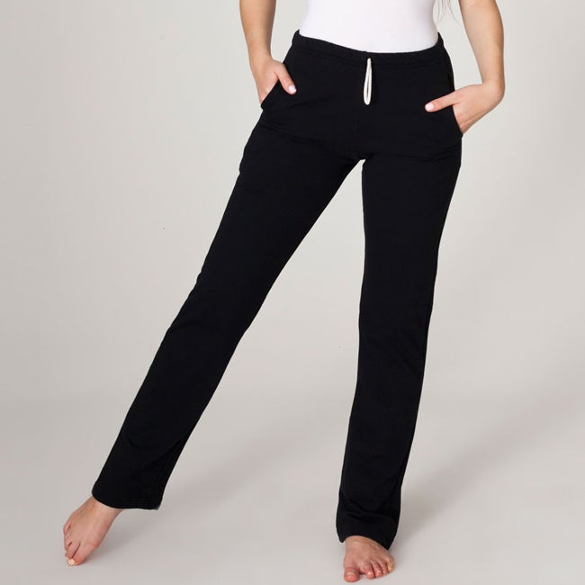 American Apparel California Fleece Slim Fit Pant