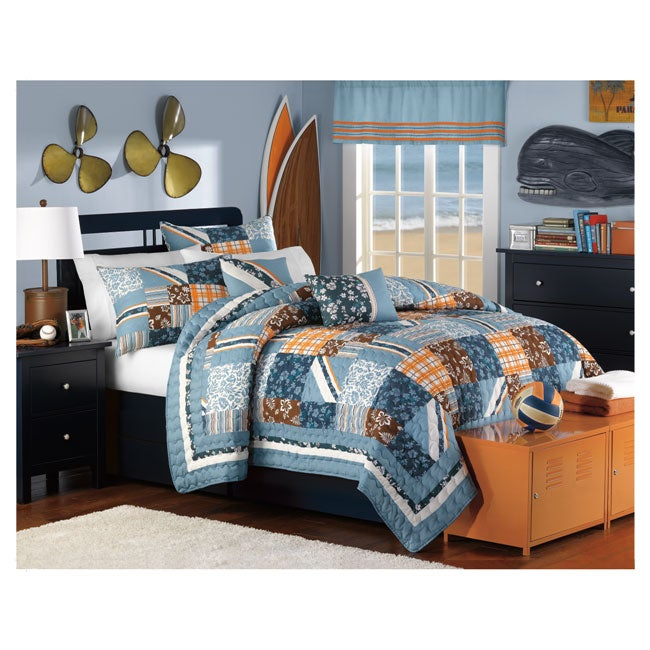 Shoreline 3-piece Quilt Set