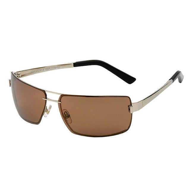Body Glove Men's 'Pensacola' Polarized Aviator Sunglasses