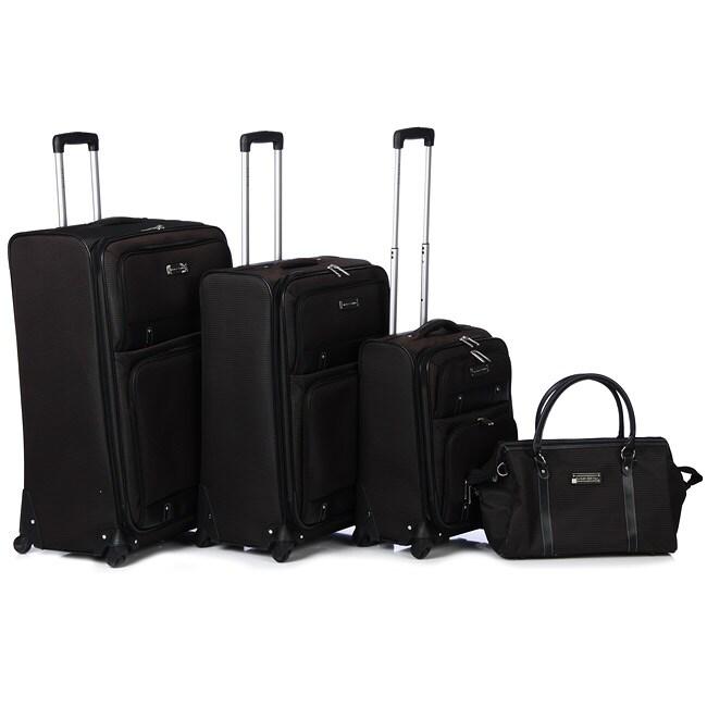 Shop Bill Blass Classics Four Piece Luggage Set