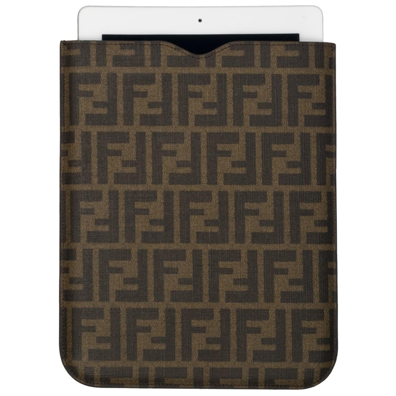 Fendi 'Zucca' Coated Leather iPad Cover