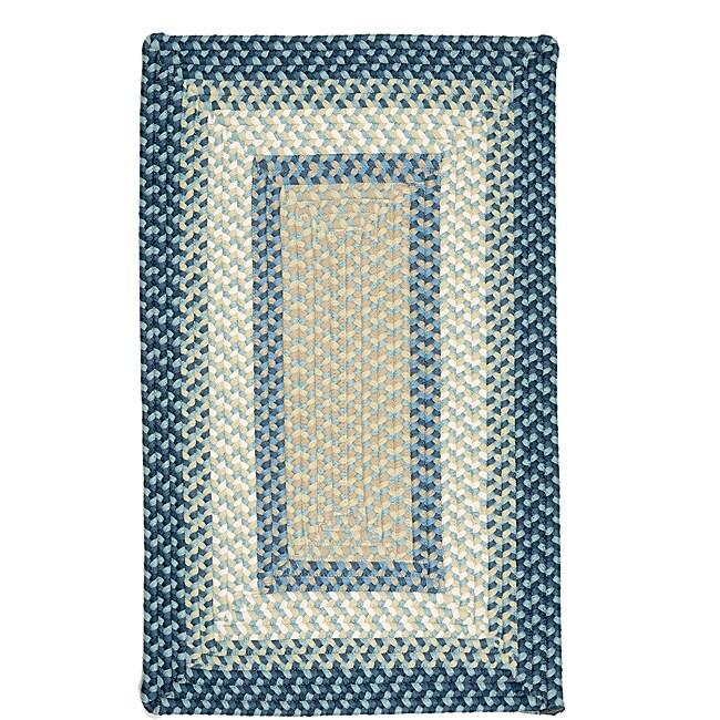 Color Market Blue Accent Rug (5' x 8')