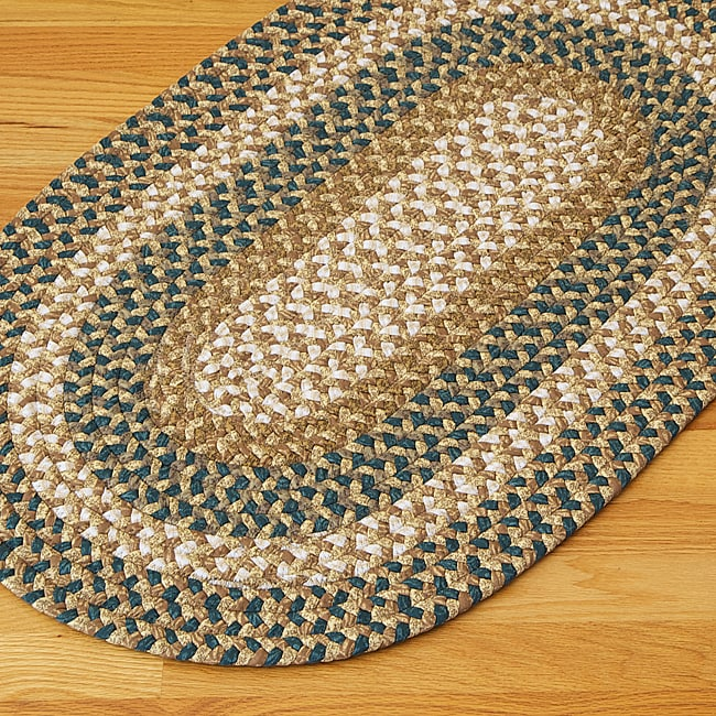 Gourmet Blue Multi Accent Rug (5' x 8')