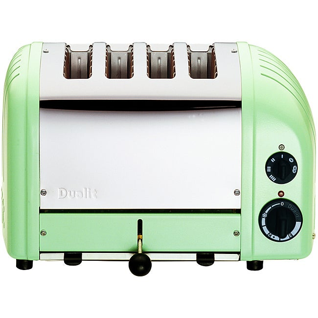 Dualit Mint Green Four-slice Toaster