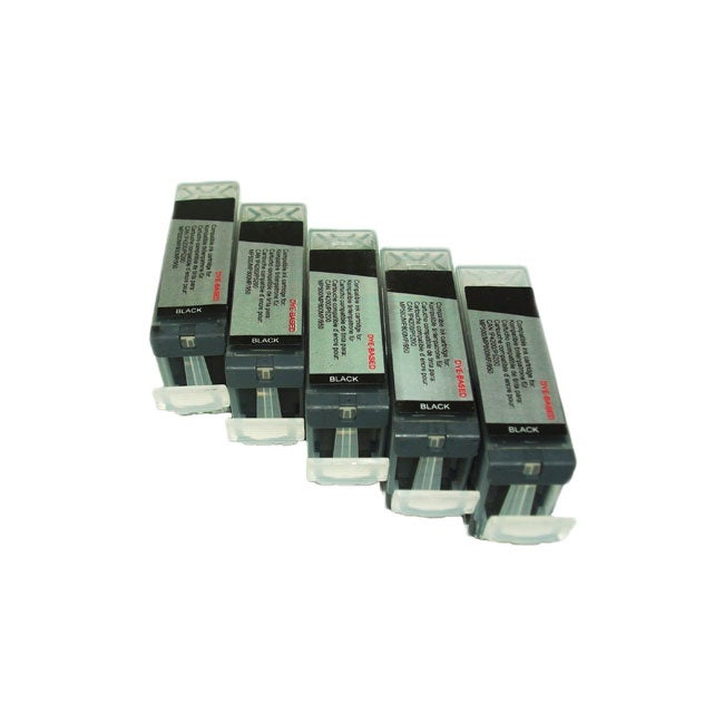 Canon PGI 5 Black - 5 pack - Remanufactured