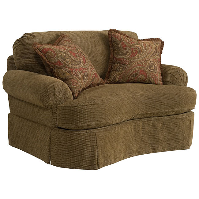 Shop Broyhill Mckenna Stucco Beige Chair Free Shipping