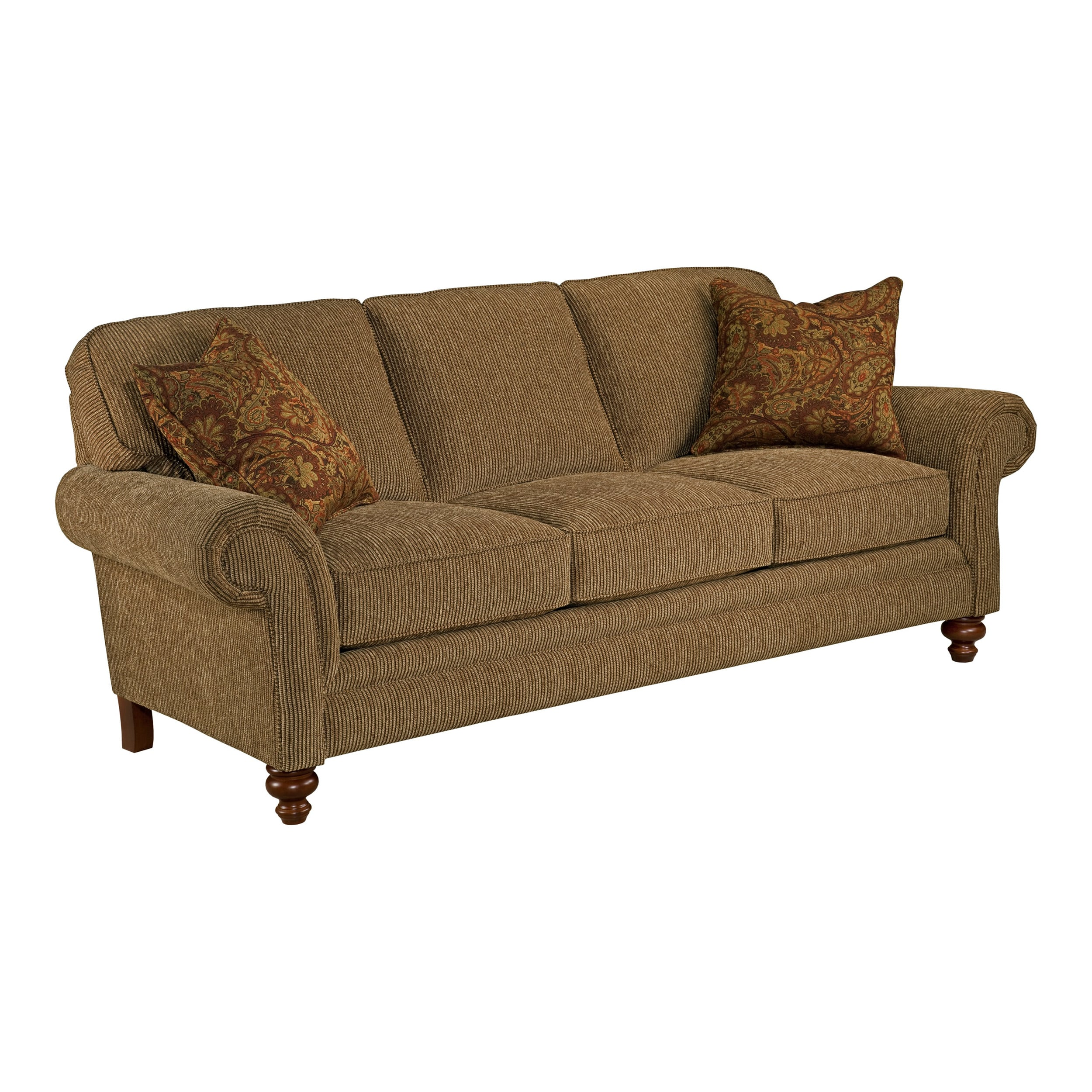 Broyhill Lara Elegant Traditional Queen Sofa Sleeper
