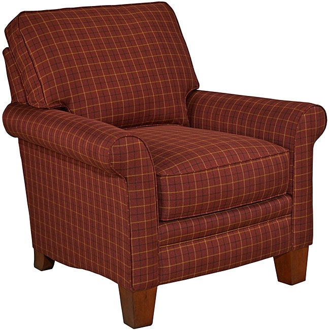 Broyhill Emily2 Classic Plaid Club Chair Free Shipping  : L14292917 from www.overstock.com size 650 x 650 jpeg 71kB