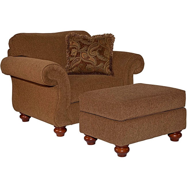 Broyhill Claira Chair And Ottoman Set Free Shipping