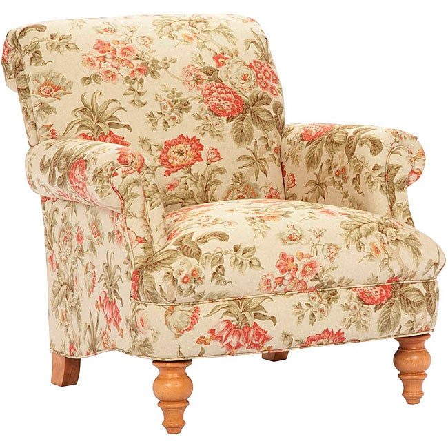 Broyhill Chloe Traditional Curved Back Accent Chair Free