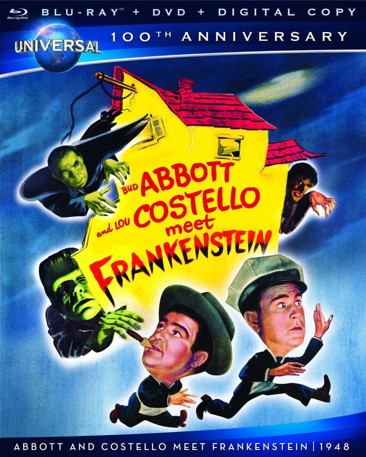 Abbott and Costello Meet Frankenstein (Blu-ray/DVD)