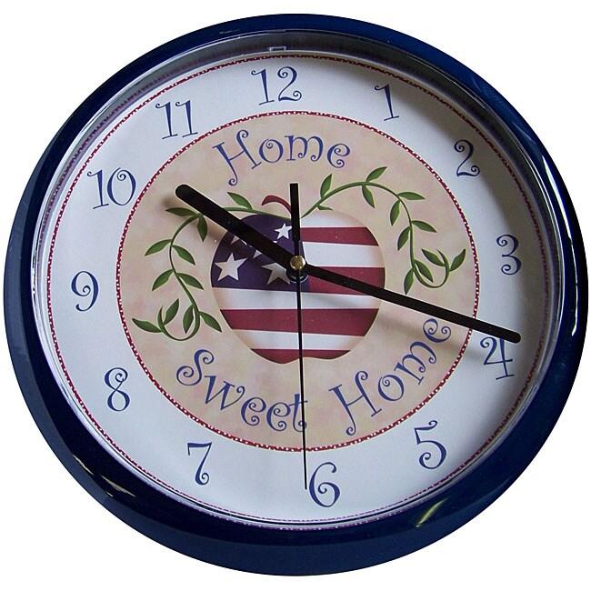 Advance 10 Inch Plastic Wall Clock