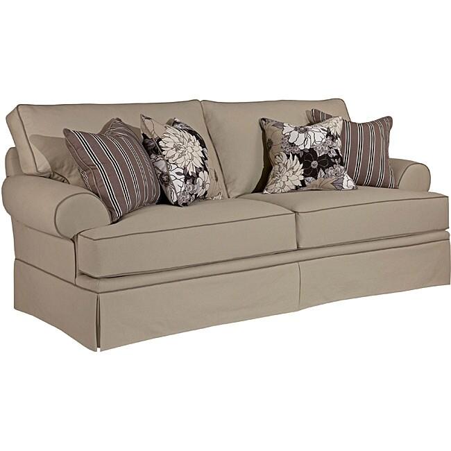 Broyhill Emma II Khaki Sofa