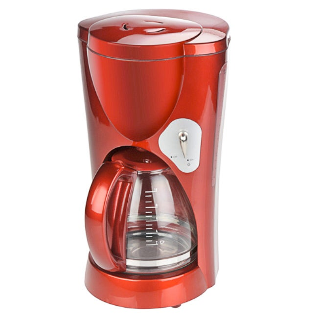 Kalorik 10-Cup Candy Apple Red Coffee Maker (Refurbished)