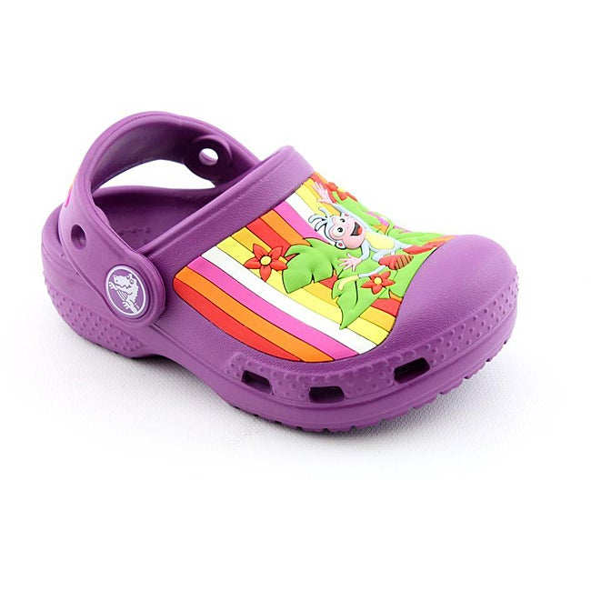4817db3c93 Shop Crocs Girl's Dora Multistripe Custom Clog Purple Casual Shoes - Free  Shipping Today - Overstock - 6757256
