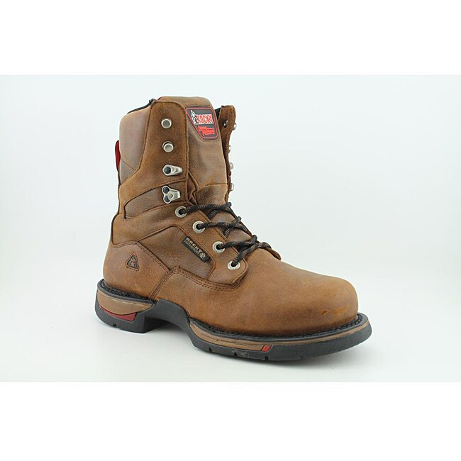 Rocky Men's 6885 Long Range Brown Boots Wide