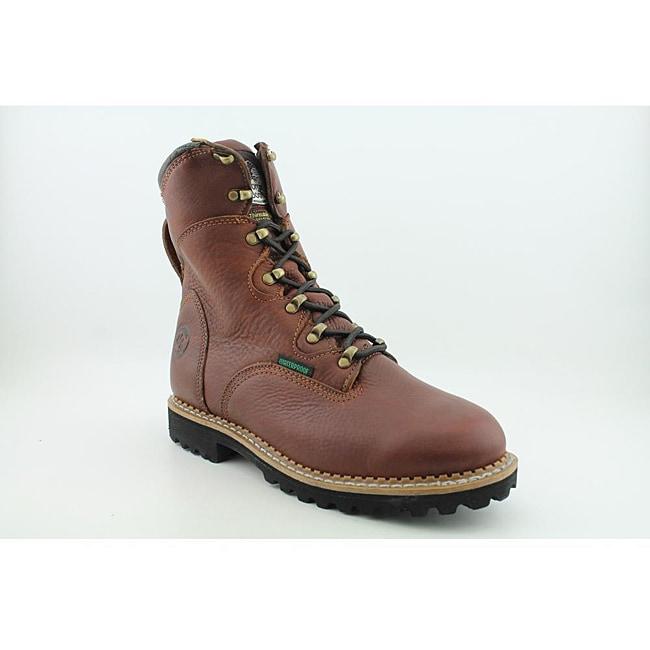 "Georgia Men's G8198 8"" Hammer WP400g Renegade Brown Boots Wide"