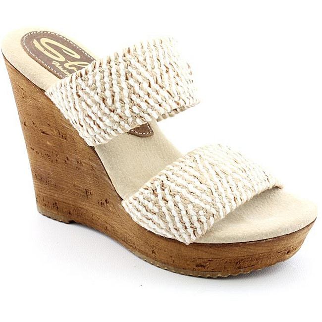 89d1e086cf9c Shop Sbicca Women s Tristan Beige Sandals - Free Shipping On Orders ...
