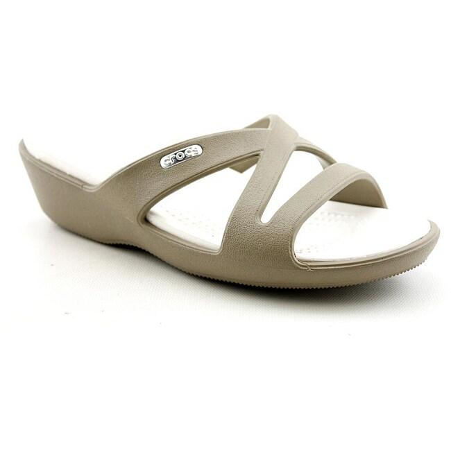 c67327c0d9f7 Shop Crocs Women s Patricia II Beige
