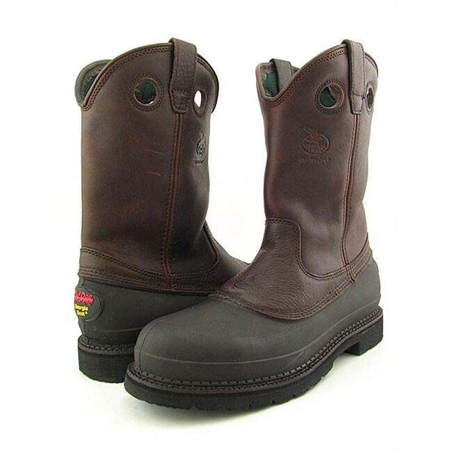 "Georgia Men's 11"" Muddog Brown Boots"