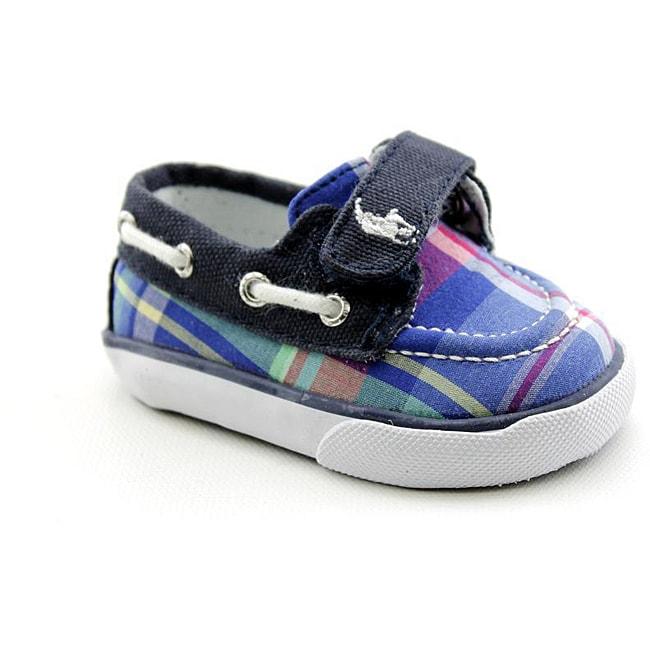 Ralph Lauren Layette Boy's Coast Ez Blue Casual Shoes