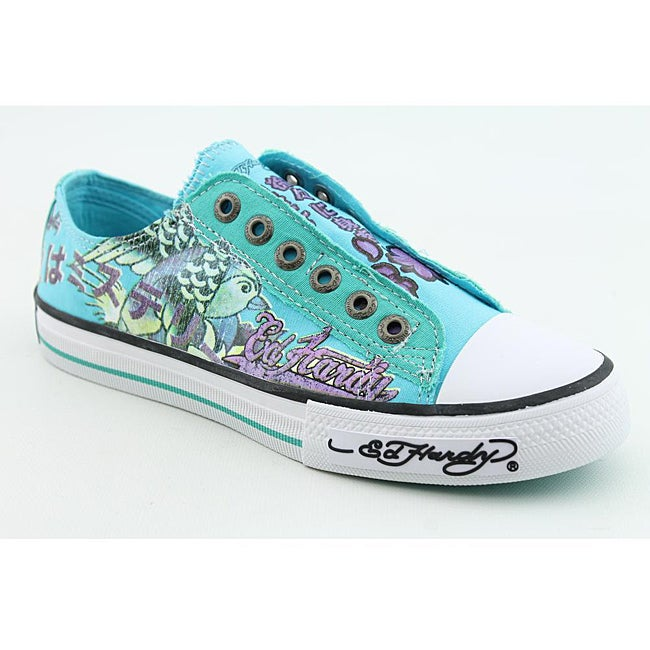 Ed Hardy Women S Sendai Aqua Casual Shoes Free Shipping