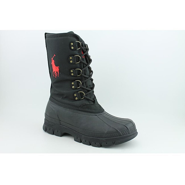 Polo Ralph Lauren Men's Liam Black Boots